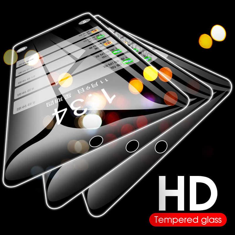 حامي شاشة إتش دي الزجاج ل Xiaomi Redmi 7 ملاحظة 7 6 برو 5 زائد 4X 6A رقيقة جدا الزجاج المقسى Presice حفرة طبقة رقيقة واقية