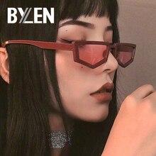 Small Polygon Vintage Sunglasses Women Brand Designer Retro Rectangle Sun Glasse