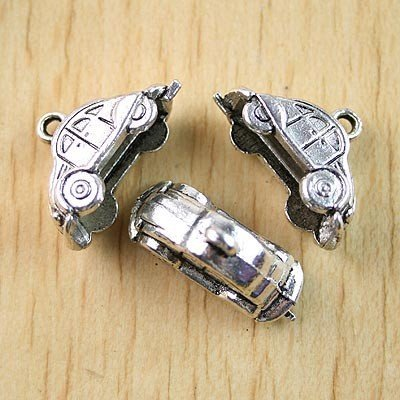 20pcs Tibetan silver car charms findings h1087