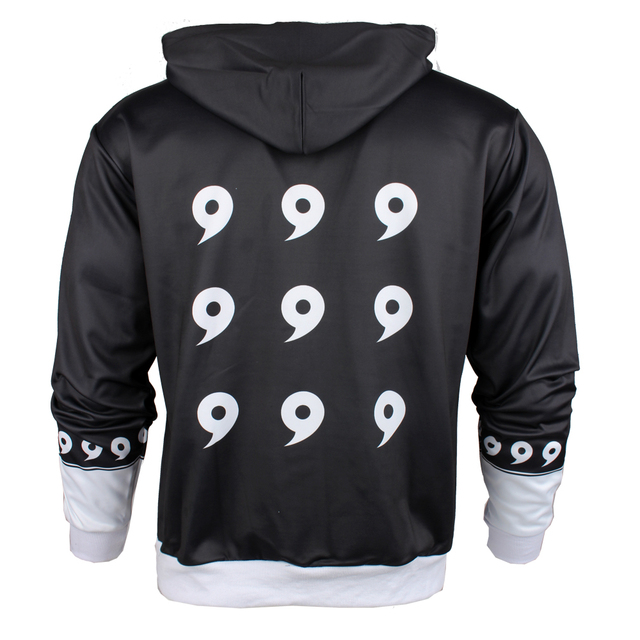 Naruto Nine Generation Zip Up Hoodie