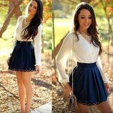 Fashion Women Dress Ladies long sleeve FD01