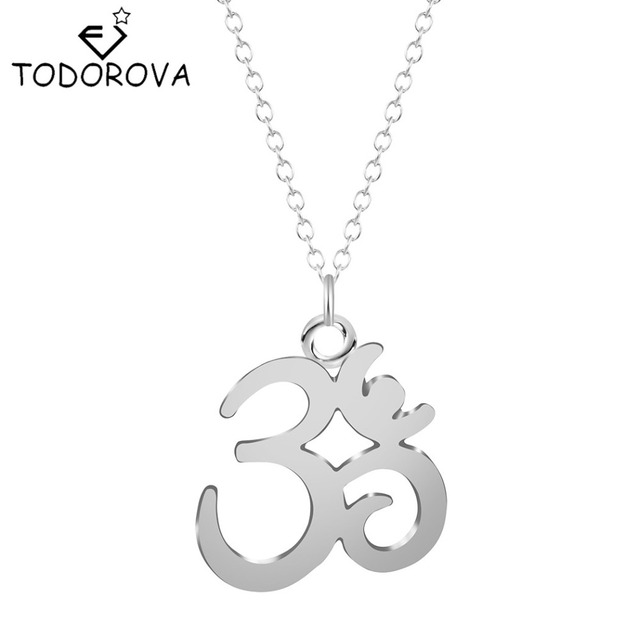 Todorova 10pcs gothic wholesale silver gold yoga om pendant necklace todorova 10pcs gothic wholesale silver gold yoga om pendant necklace meditation om symbol necklaces for women aloadofball Gallery