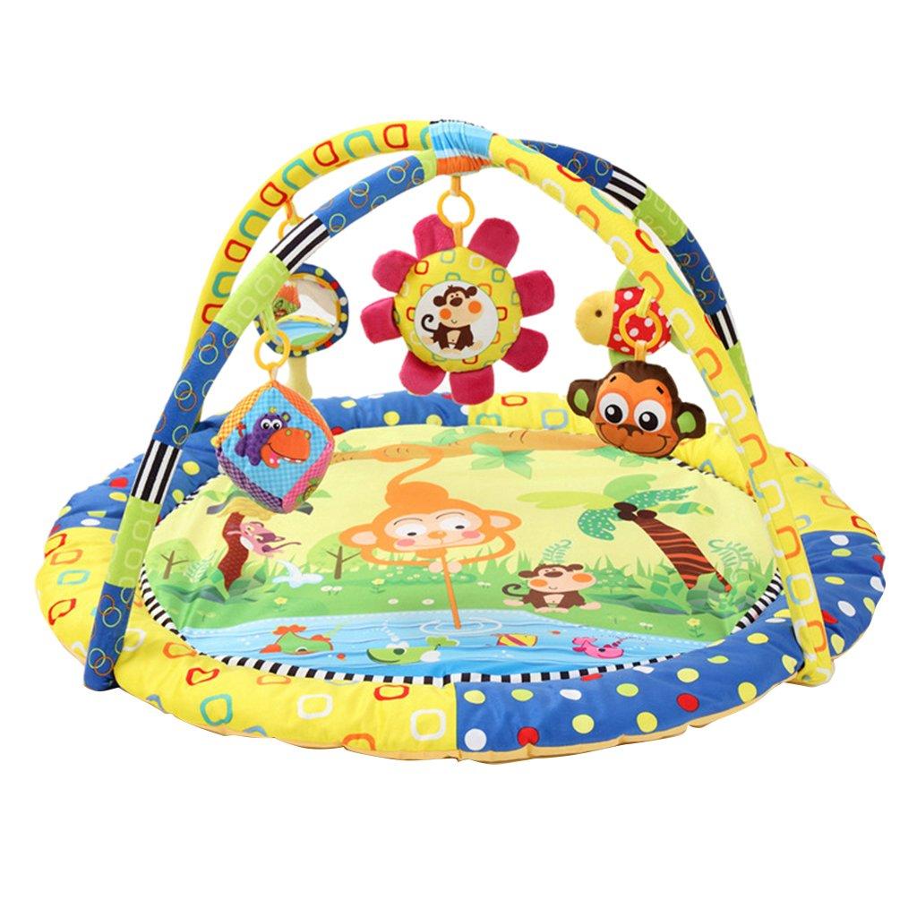 Nouveau-né bébé tapis de jeu doux sommeil ramper coussin tapis tapis jeu tapis de jeu Pad sensoriel jouets éducatifs cadeau pour bébé enfants