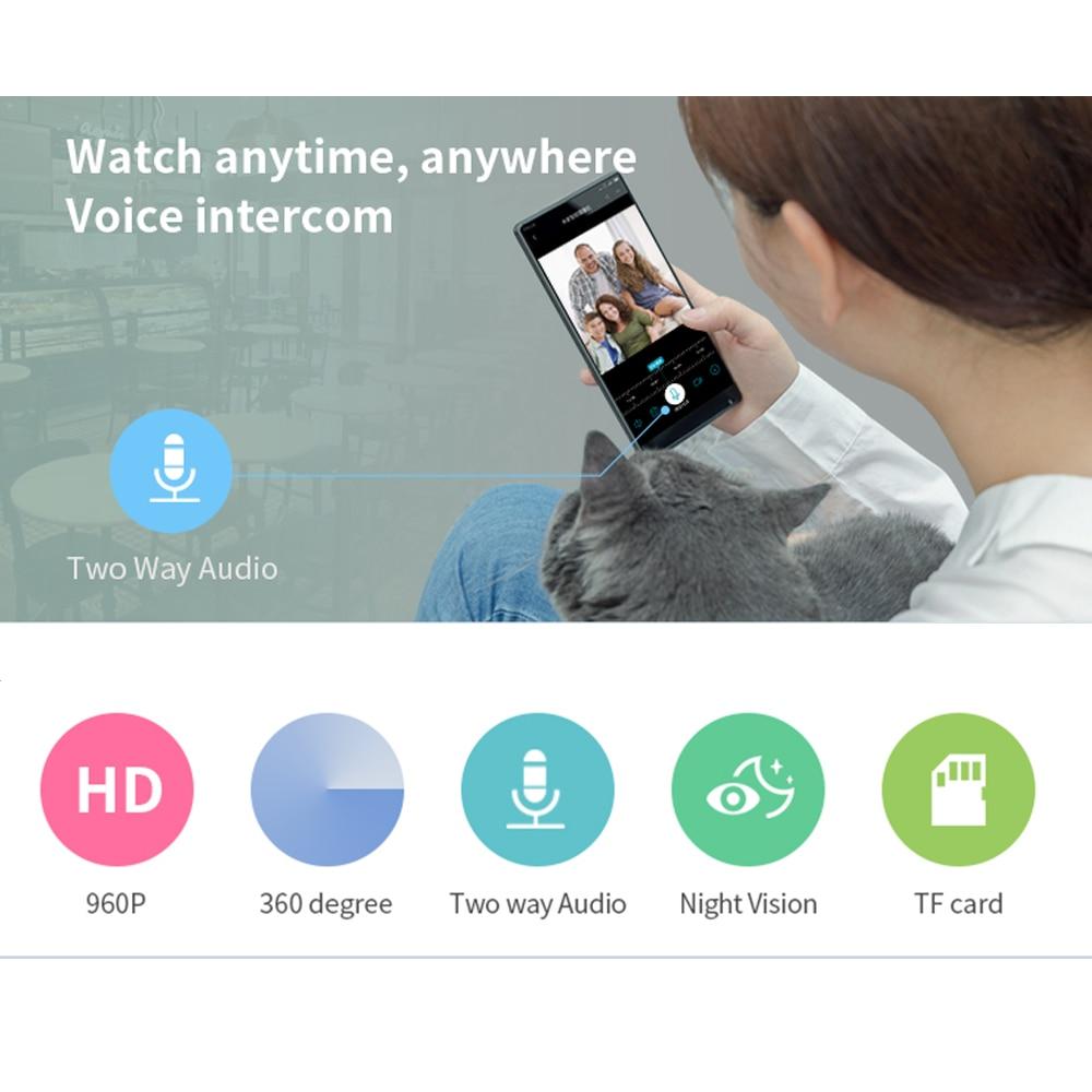 INQMEGA 960 P IP Kamera Kablosuz 3D VR 360 Derece Panoramik FIsheye - Güvenlik ve Koruma - Fotoğraf 2