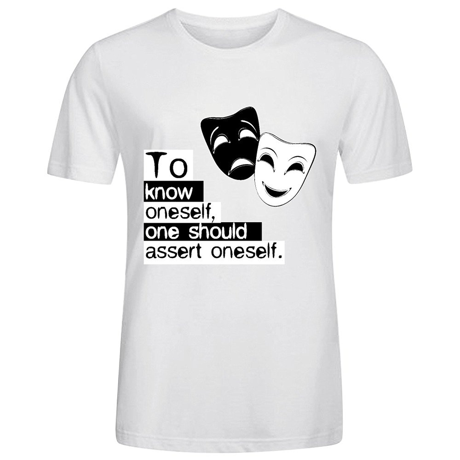 Inspirational Quote Of Albert Camus Men T Shirts In T Shirts From
