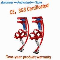 Перейти ходулях Для детей Skyrunner Вес 44 ~ 88lbs/20 ~ 40 кг Красного цвета/упражнения Паркур летающие ботинки весело Фитнес