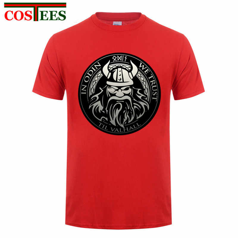 93a8ceb666f 2017 Newest design Men Create a Shirt Vikings Sons of Odin Cheap Brand Valhalla  Clothing Screw