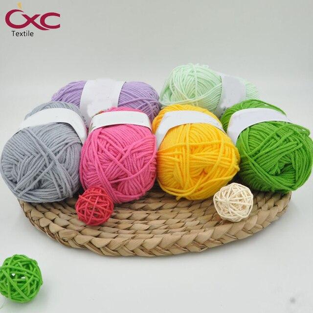 Cxc Crochet Threads Milk Cotton 4 Strands Cotton Yarn Threads Cotton