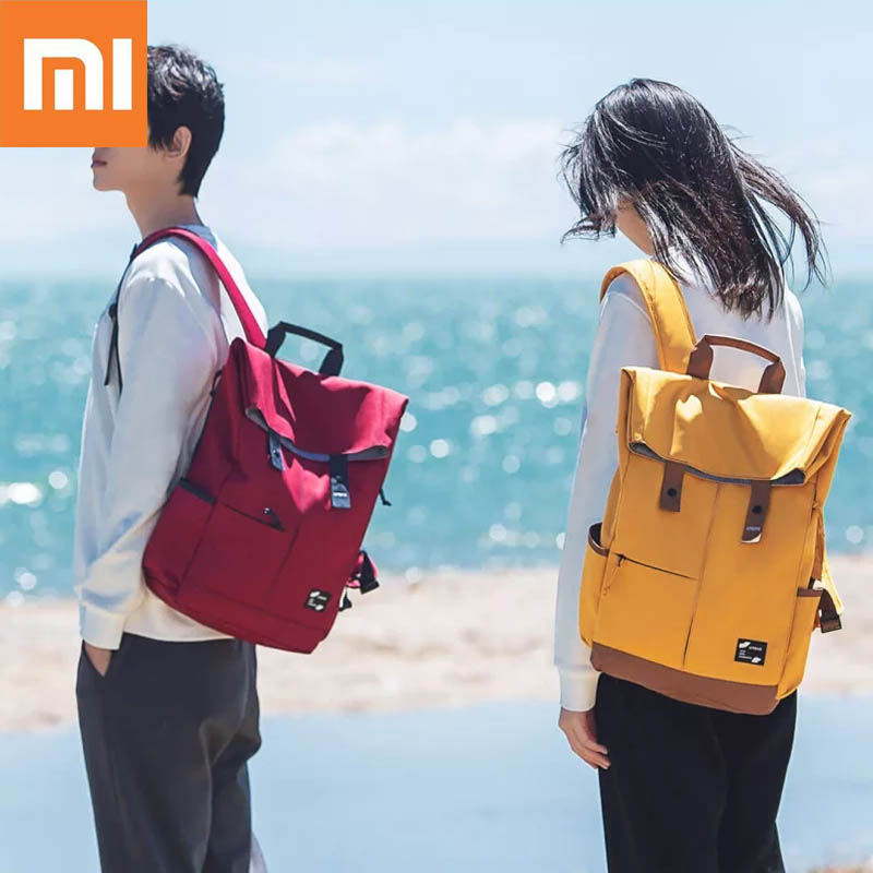 Xiaomi Urevo 13L 15.6 pouces collège école adolescents loisirs sac à dos sac étanche pour ordinateur portable sac à dos grande capacité sac à dos