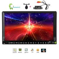 Front Rear Camera Android 6 0 Car DVD Player In Dash 7 Video Player Wifi Mirror
