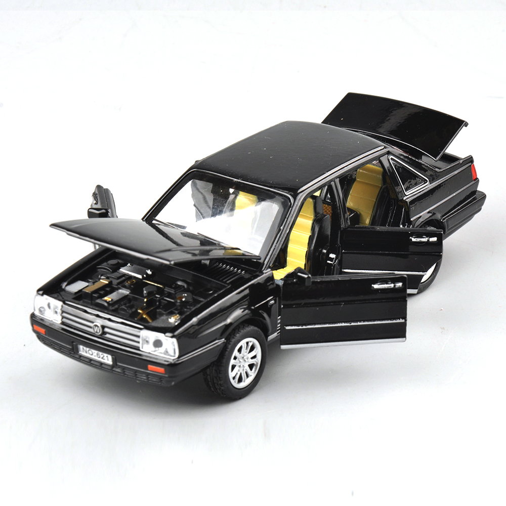 132 creative volkswagen santana jetta alloy diecast pull back car models kids toys gifts brinquedos metal classical model cars