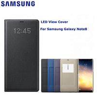 SAMSUNG Original LED View Cover Smart Cover Phone Case For Samsung Galaxy Note8 N9500 N950F Note