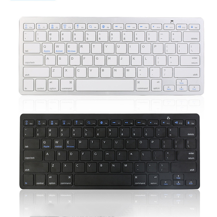 binmer keyboards new slim wireless bt 3 0 keyboard for imac ipad android phone tablet pc td0614. Black Bedroom Furniture Sets. Home Design Ideas