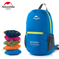 Naturehike Folding Ultralight Backpack For Women Outdoor Men Travel Sport Bags Camping Hiking Waterproof Rucksack 15L