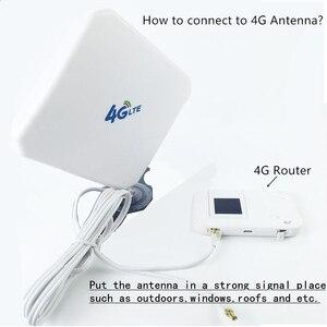 Image 5 - 3グラム4 4g lteアンテナsma CRC9 TS9コネクタ無線lan信号ブースターアンテナ35dBi屋内4 3gインターネット受信機ためワイヤレスモデムルータ
