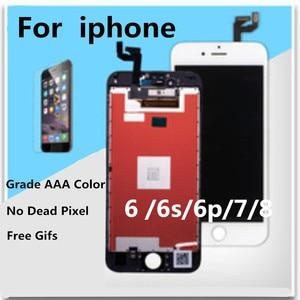 Image 4 - Aaa 아이폰 6 lcd 화면 전체 어셈블리 6 플러스 6 s 디스플레이 터치 스크린 교체 디스플레이 죽은 픽셀 없음