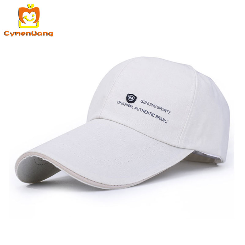 Cymenwang Spring Long Visor Baseball Caps Women Men Snapback Caps Hats Men Golf Baseball Cap Casual Fitted Hat Bone outdoor Hats wholesale spring cotton cap baseball cap snapback hat summer cap hip hop fitted cap hats for men women grinding multicolor
