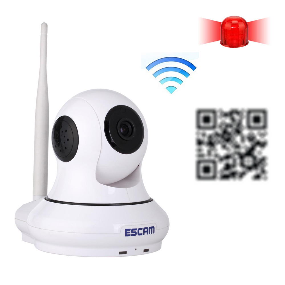 mini IP Camera Onvif HD 720P P2P Wirless Wifi Home Security CCTV Camera with door sensor Support 32GB TF card  Night Vision wanscam hw0026 hd 720p ir ip onvif 2 1 p2p wifi security camera support 32g tf card