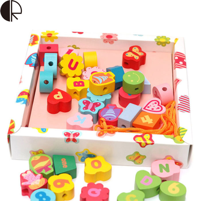 Hot Sale High Quality Garden Beaded Wooden Puzzle Baby