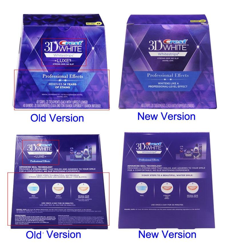 Crest 3d White Teeth Whitestrips Professional Effect 1 Box 20