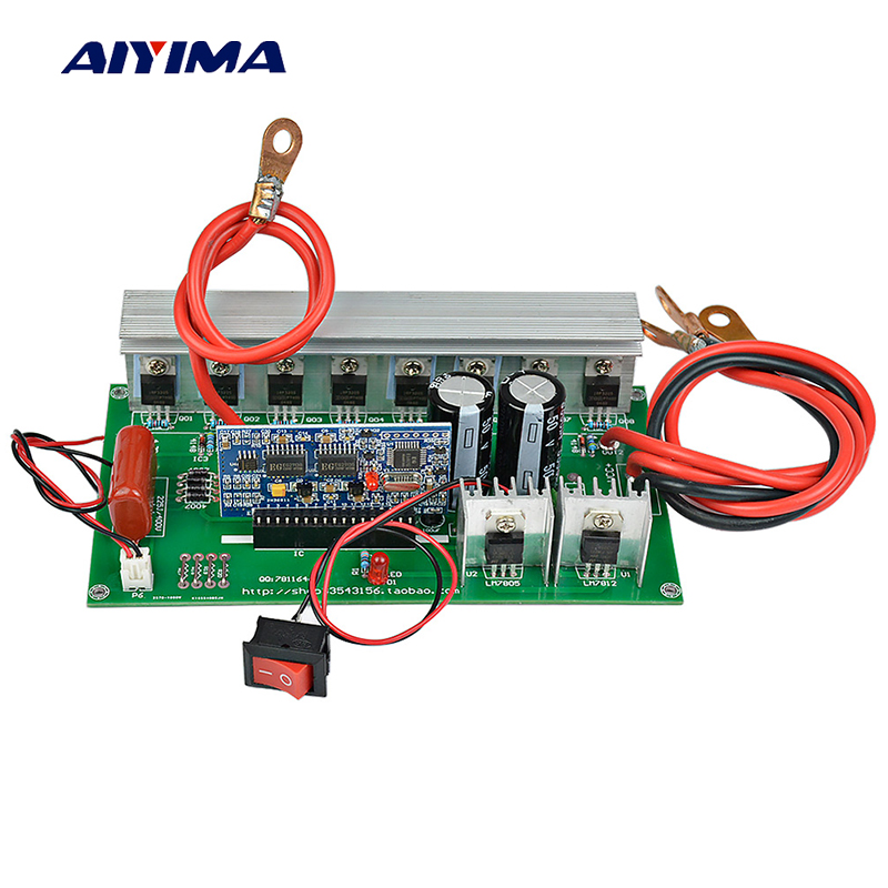 AIYIMA Pure Sine Wave Power Frequency Inverter Board 12V 24V To AC220V Pure Sine Wave Booster Module 1000WAIYIMA Pure Sine Wave Power Frequency Inverter Board 12V 24V To AC220V Pure Sine Wave Booster Module 1000W