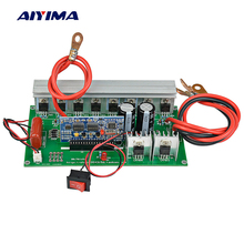 AIYIMA Pure Sine Wave Power Frequency Inverter Board 12V 24V To AC220V Booster Module 1000W