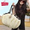BVLRIGA estilo bolsas moda totes projetistas Mulheres saco do verão bolsa De Palha tecida saco de praia famoso designer de marcas de alta qualidade
