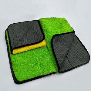 Image 5 - 1pc ręcznik z mikrofibry czyszczenie samochodu narzędzie myjnia samochodowa Detailing poliester pielęgnacja samochodu polerowanie ręcznik do suszenia 2019 nowy produkt