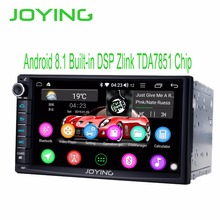 7 «двойной 2Din Octa Core Andorid 8,1 головное устройство Универсальный Автомобильный Радио стерео Мультимедиа gps Bluetooth музыка без DVD плеер добавить DSP