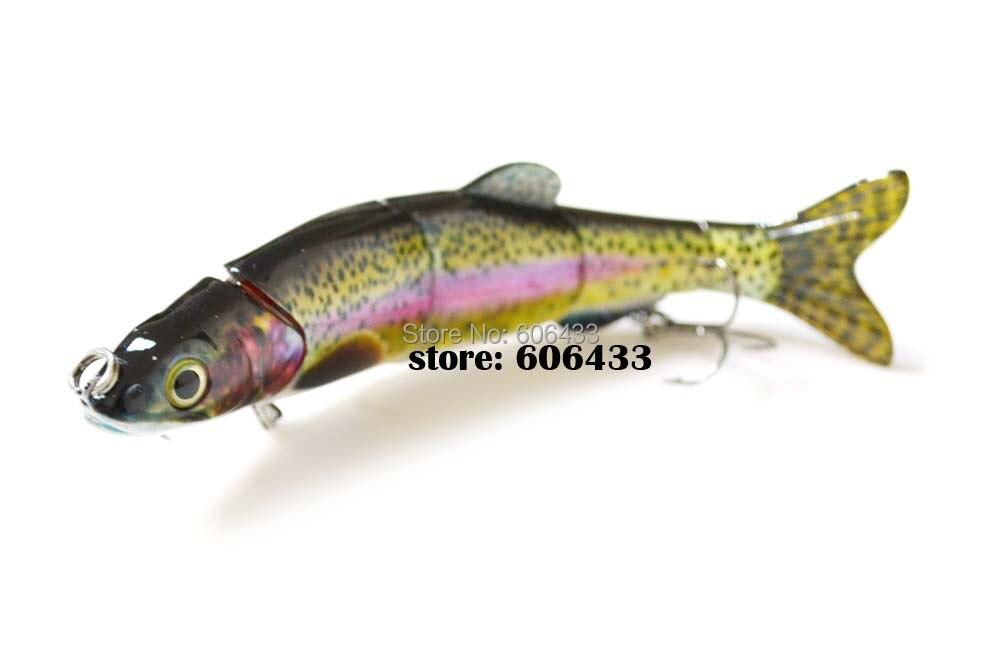 Deep Sea Fishing Fish Multi section Lure Lures 5 Segment Swimbait Crankbait 16cm/33g 8014-FL501 Free shipping