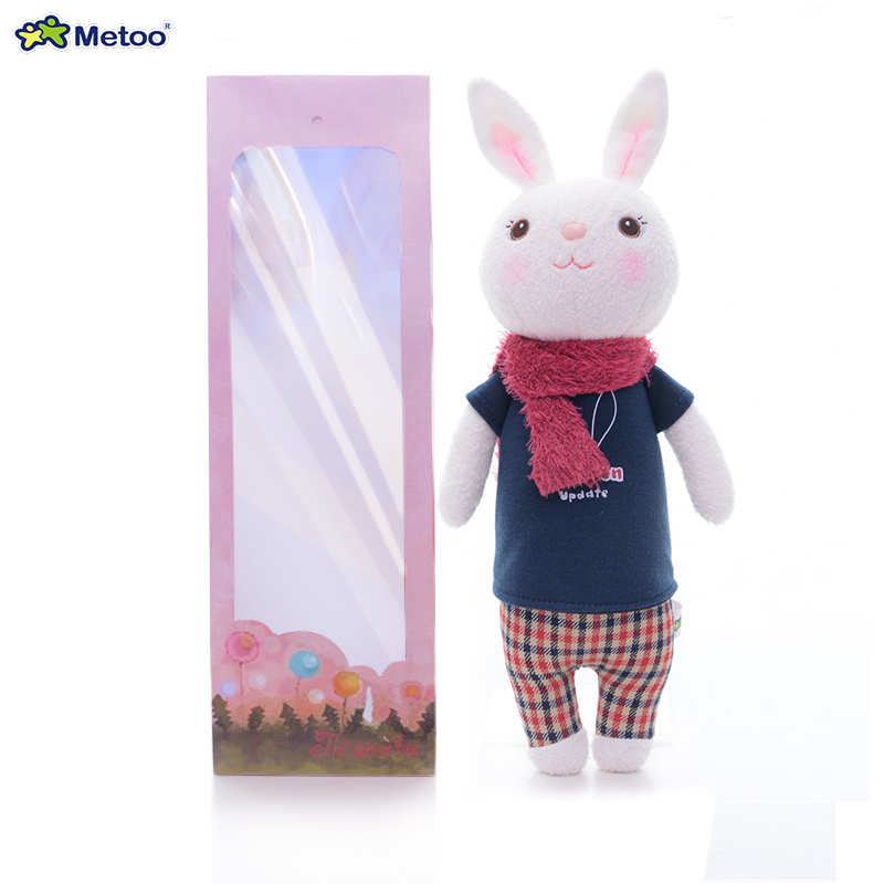 Tiramitu Genuine Metoo Plush Toys Cute Stuffed Dolls Rabbits Animals Prefect  Gifts for Girls Boys Kids hot sale 12cm foreign chavo genuine peluche plush toys character mini humanoid dolls