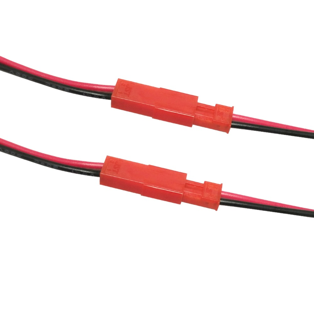 10 pair 100mm 150mm 200mm 10cm 15cm JST connector plug connect cable for RC BEC LIPO