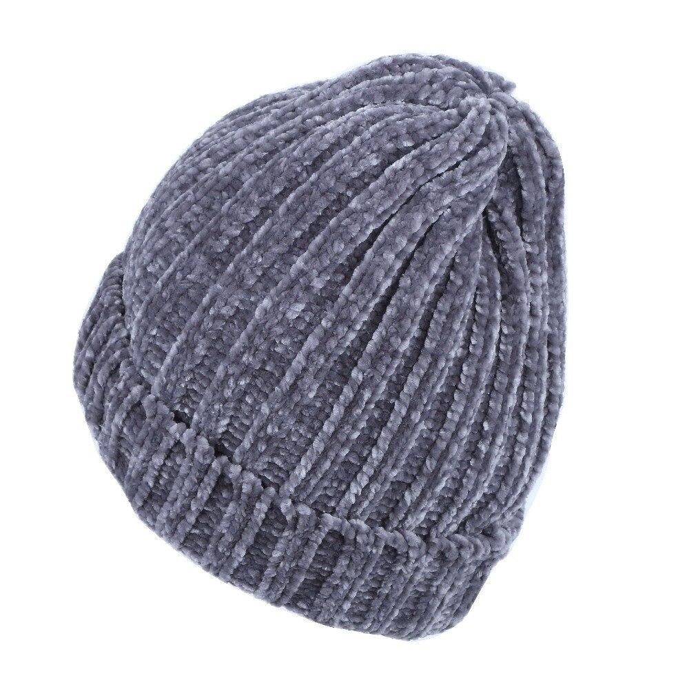 087a6b088c9 women brand winter hat beanie knitted cap girl fashion luxury rhinestone  thermal hats clear beads warmer casual gorros skullies