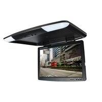 DC12V 15 5 Inch Car Bus TFT LCD Roof Mounted Monitor Flip Down Monitor 2 Way