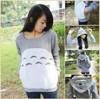 NEW! Animation Totoro Cosplay Costume Hoodie Coat My Neighbor Totoro Autumn Hoodie Unisex Jacket Hallowmas Christmas clothing