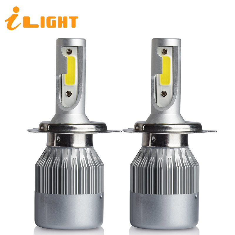ILight H7 LED phare De Voiture LED H4 H1 LED H8 H9 H11 3800LM 36 W 9005 HB3 9006 HB4 H3 880 H27 9004 COB Car Auto Lampes 12 V 6000 K
