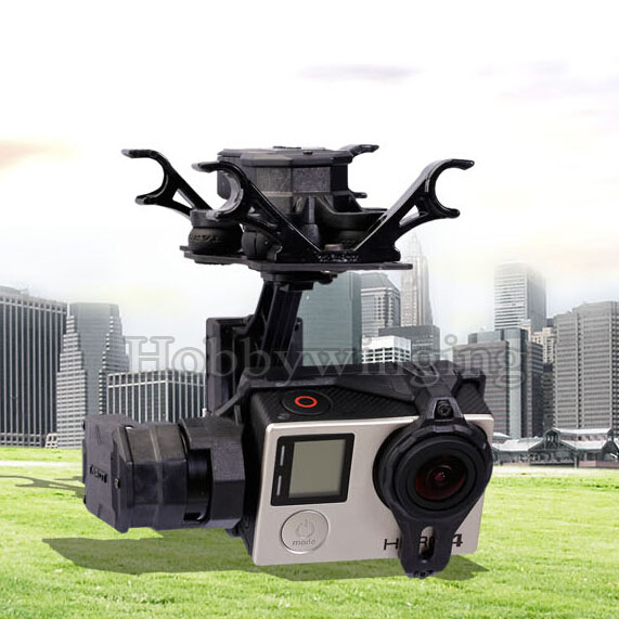 Tarot GOPRO T4-3D 3-axis brushless gimbal TL3D01 for GOPRO4/GOpro3+/Gopro3 FPV rtf ready to fly 3 axis gopro brushless gimbal fpv stablizer alexmos v2 4 fully assembled for gopro3 hero 3 big board