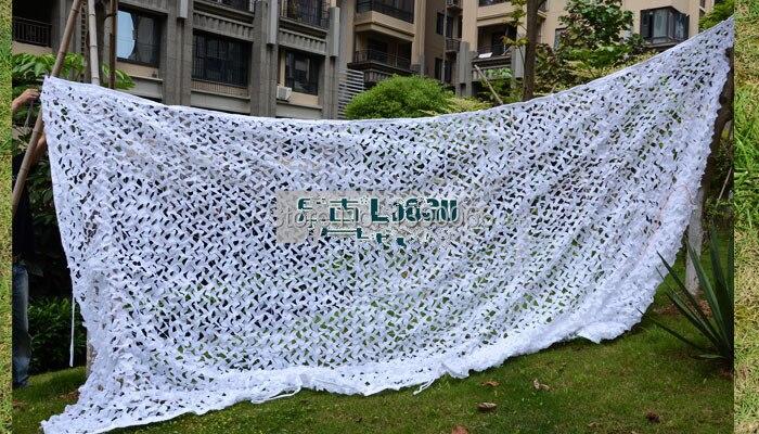 3 x 5 m militaire filet de Camouflage neige blanc camo compensation chasse Camping cacher décoration de la maison livraison gratuite dans Abri du soleil de Sports et loisirs