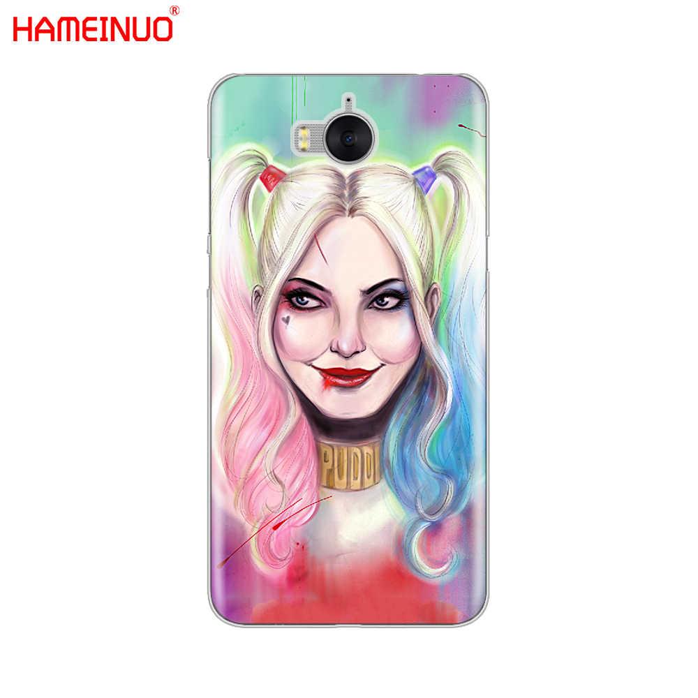 HAMEINUO Harley Quinn samobójstwo Squad na telefon komórkowy etui na Huawei honor 3C 4X 4C 5C 5X6 7 Y3 Y6 y5 2 II Y560 Y7 2017