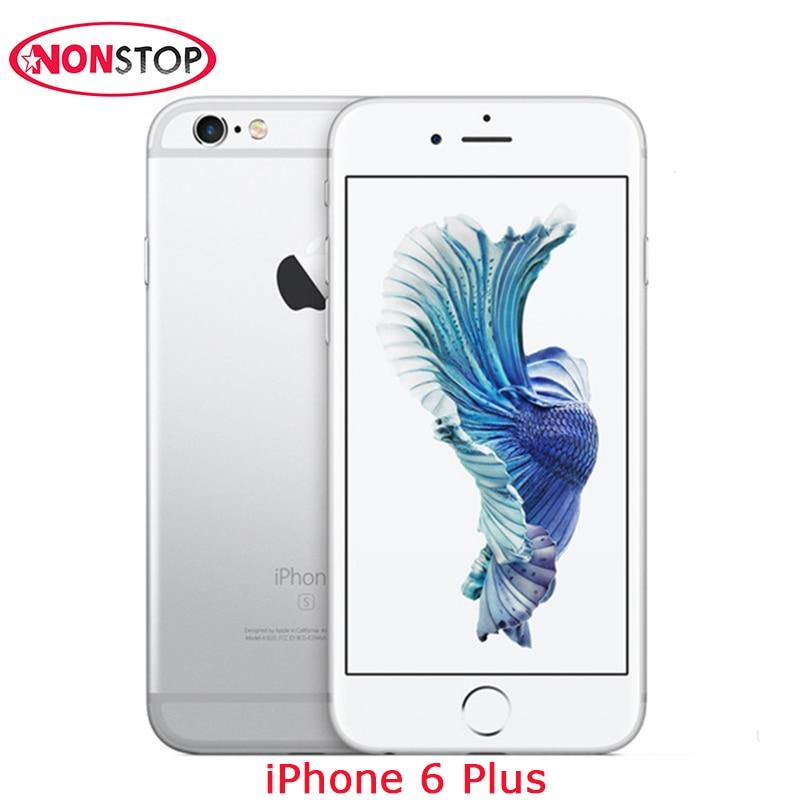 Used Original Unlocked Apple IPhone 6 Plus 5.5 Inch 1.4GHz 8.0MP Camera 3G WCDMA 4G LTE 16GB/64GB/128GB Dual Core Iphone 6 Plus