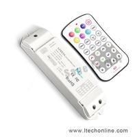 M7 + m4-5a ltech; m7 mini rf wireless remote kontroler led rgb m4-5a cv stałe napięcie przyjmującego; dc5v-dc24v wejście; 6a * 3ch max18a