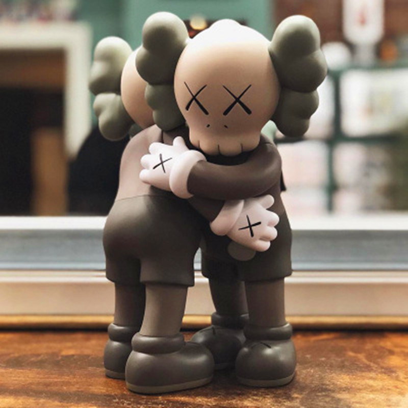 28CM  KAWS Together Embrace Companion Figure Kaws Cosplay Action Figure Kaws OriginalFake Toys  F10928CM  KAWS Together Embrace Companion Figure Kaws Cosplay Action Figure Kaws OriginalFake Toys  F109