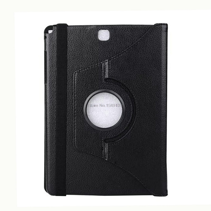 360 Rotation Premium PU Leather For SAMSUNG T550 Galaxy Tab A 9.7 Multi Angle Stand Cover Coque Funda Capinha