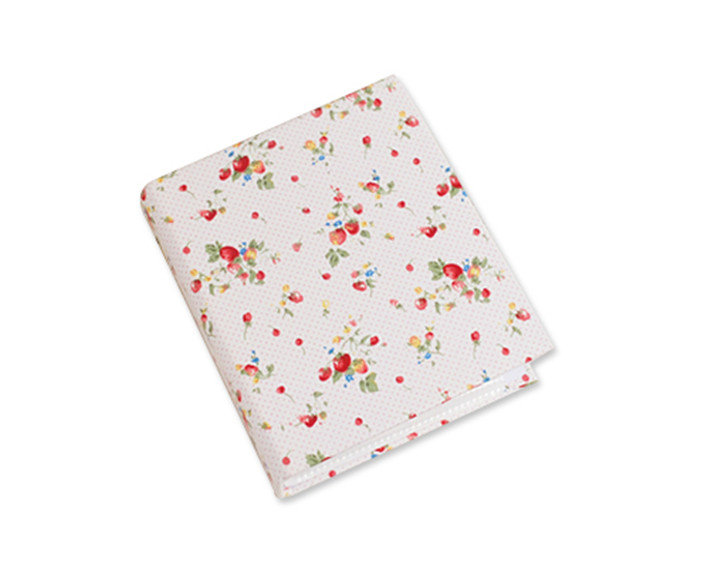 1911cm floral fabric mini photo album for fujifilm instax mini films diy business card holder photo credit camera album in photo albums from home garden