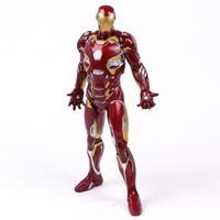 Crazy Toys Avengers Iron Man MARK XLV MK 45 1/6 Scale Collectible Figure PVC Model Toy