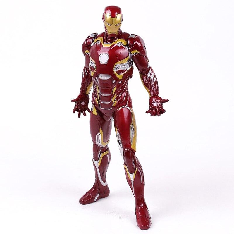 Безумные игрушки, Железный человек, MARK XLV MK 45 1/6, весы, коллекционная фигурка, ПВХ Модель игрушки|Игровые фигурки и трансформеры|   | АлиЭкспресс