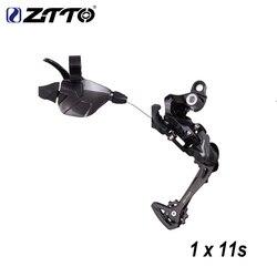 ZTTO rower MTB 1X11 System 11 prędkości przerzutka przerzutka tylna grupa dla xt k7 42t 46t rower górski mechanizm korbowy części 11v system w Przerzutki rowerowe od Sport i rozrywka na