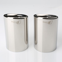 Automobile Exhaust Tip Tail Pipe Muffler for Audi A4L