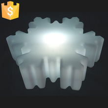 2018 New Arrival LED Holiday Decoration Christmas Wedding Light Lamps SMD 5050 Snowflakes 16 Color Changing Free Shipping 2pcs
