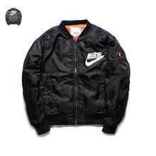 yeezus Sons of Anarchy,tour MA1 Black Army Green pilot flight jackets yeezy 2017 Japanese Bomber men baseball Coats military